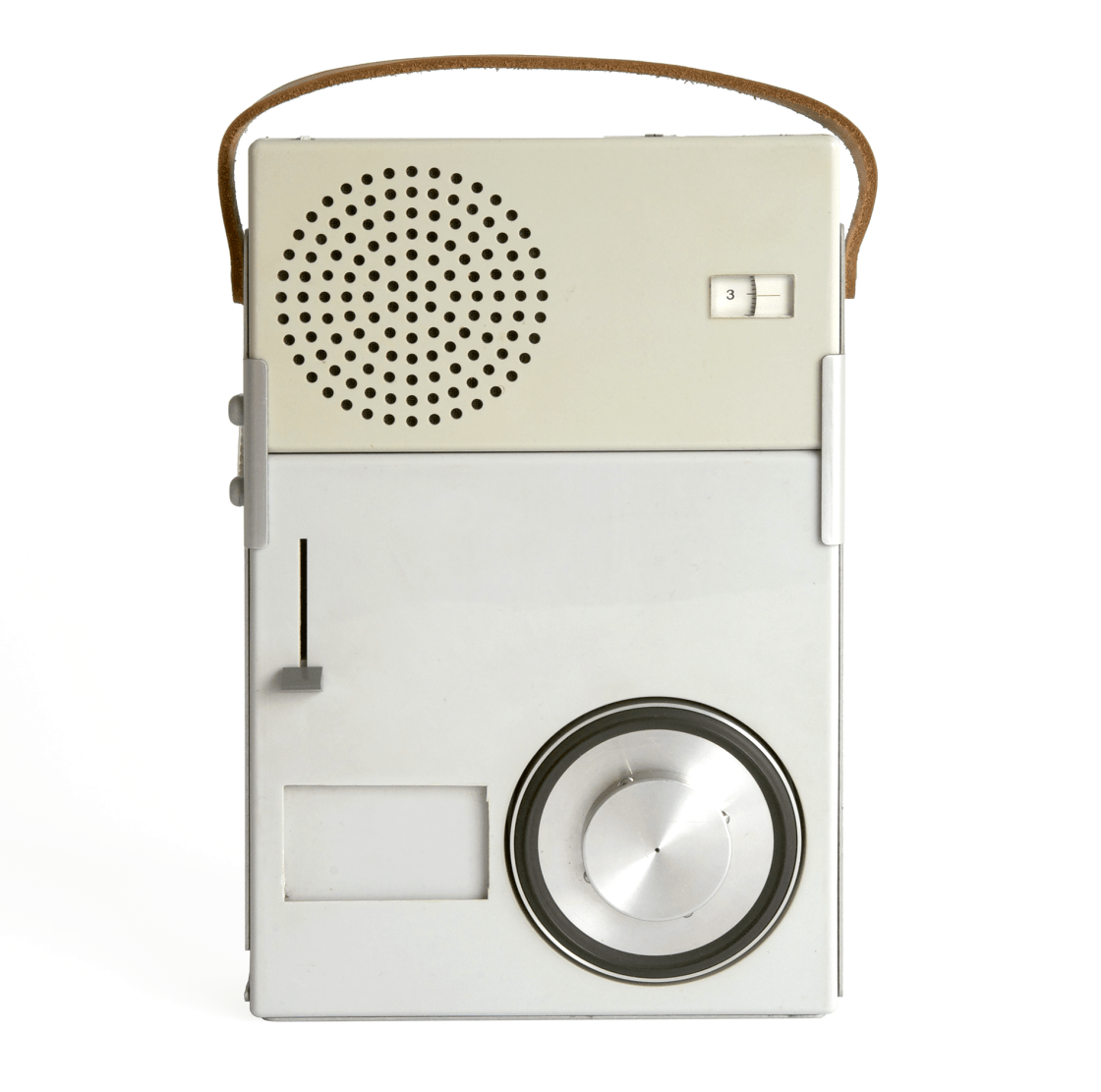 1959 - TP 1 Record player and radio receiver by Braun