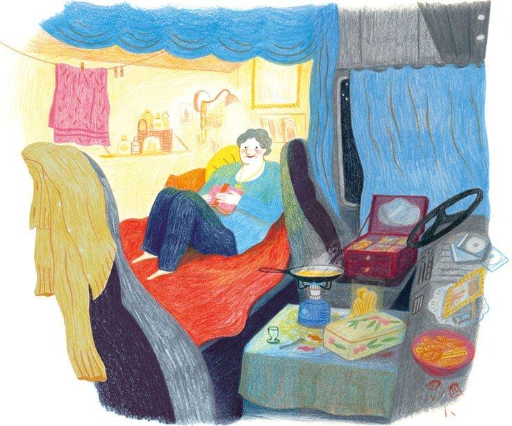 Le illustrazioni di Anne Laval