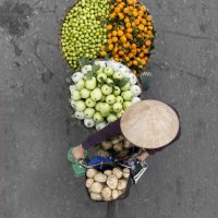 I venditori ambulanti vietnamiti visti da Loes Heerink