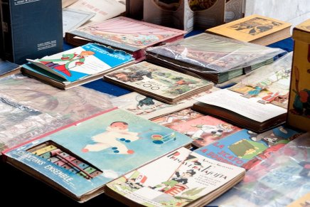 Vecchi libri in piazza. Prossimo appuntamento l'8 aprile con il tema Design&Arredamento