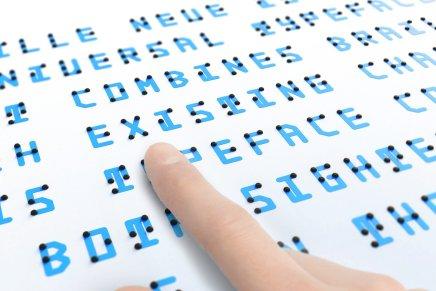 Intervista a Kosuke Takahashi. Braille Neue, un carattere tipografico inclusivo
