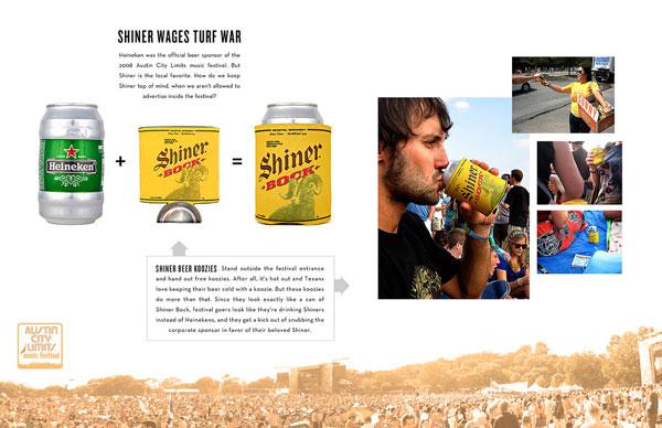 Shiner Beer Print Ad