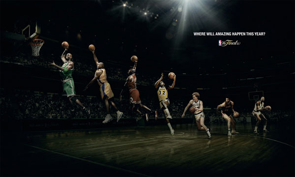 Where will amazing happen this year? Print Ad