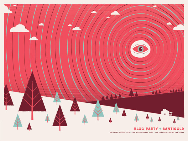 A Showcase of Creative Gig Posters 12