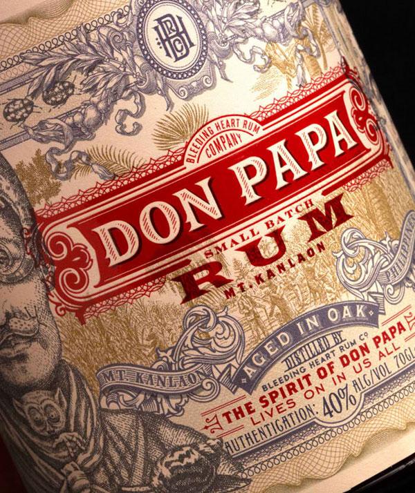 Don Papa Rum Print Design Inspiration