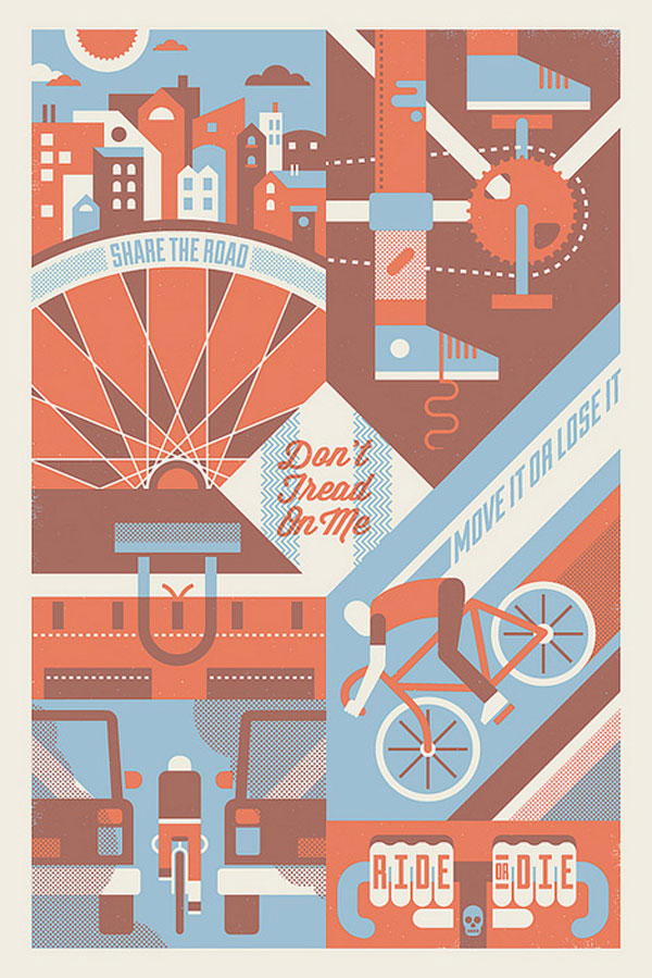 Ride or die Print Design Inspiration
