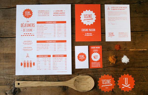 Usine Branding Print Design Inspiration