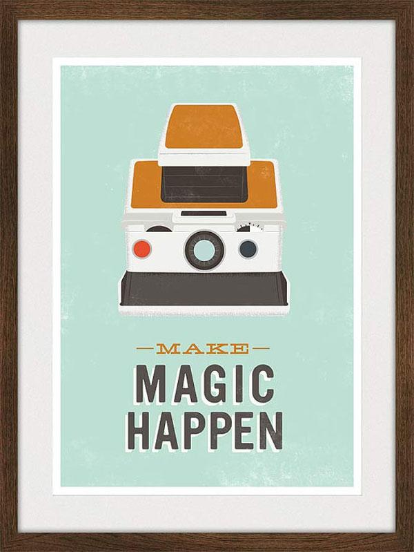 Polaroid Poster Print Design Inspiration