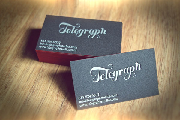 Telegraph Print Design Inspiration