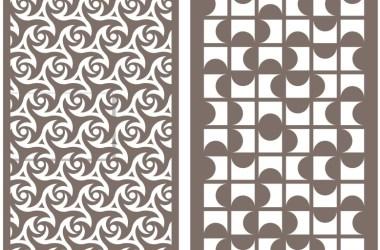 CNC & LASER JALI DESIGNS PATTERN