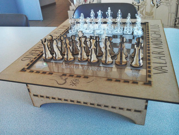 Chess game puzzle