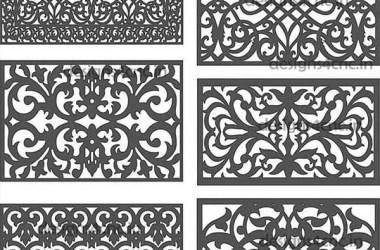 acrylic cnc cutting designs