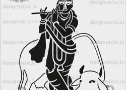 Radha krishna cnc cutting dxf file