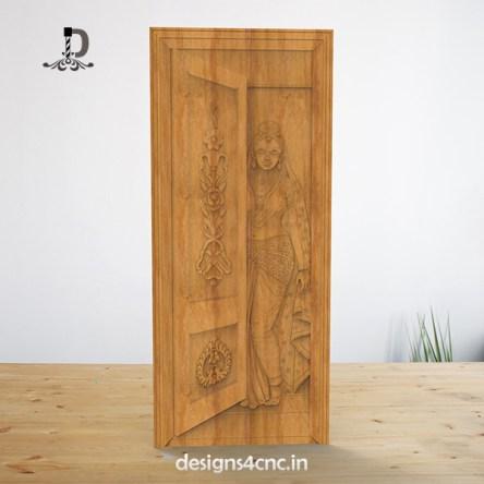 Artcam Door 3d model free download