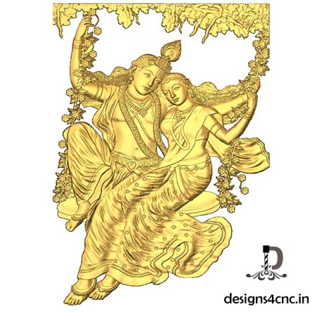 Radha krishna Artcam 3d model download
