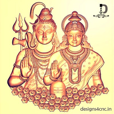Shiv Parvati hd wallpaper