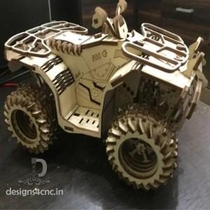 4 wheel bike laser