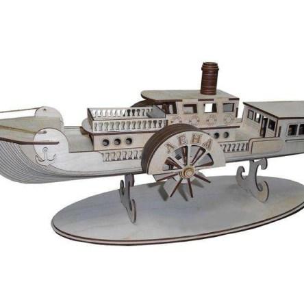 ship 3d vector model for home decor