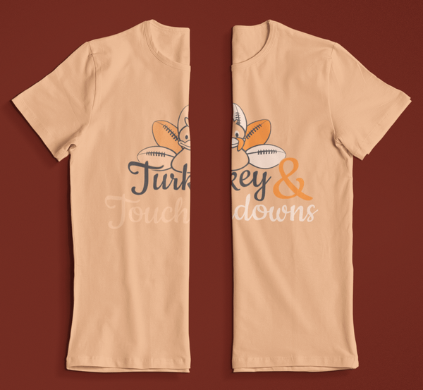 There is a fine line between low-contrast and no-contrast in t shirt design