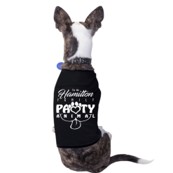 Party Animal Custom Family Reunion Custom Design Dog T-Shirt Design Template