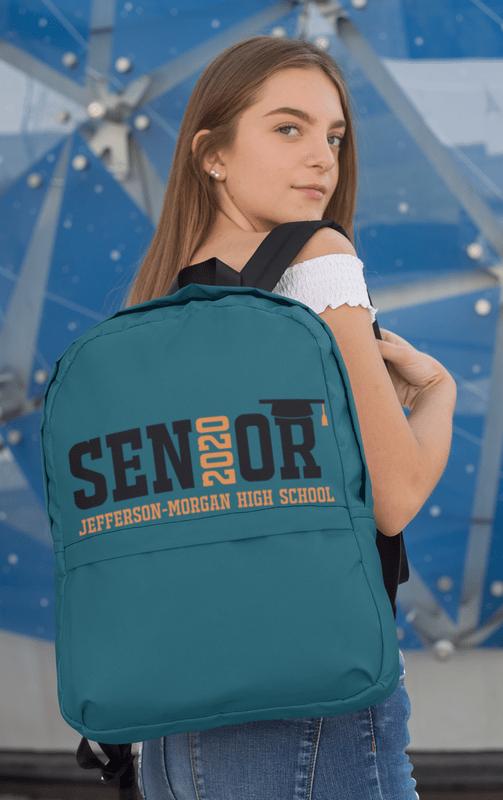 Senior 2020 Logo Templates - Custom Class Year Design 1