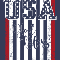 God Bless USA Shirts | American Flag Patriotic T-Shirt Design