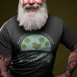 God Showing Off Family Reunion T-Shirt Design Template