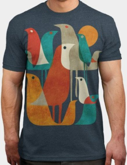 artsy creative abstract graphic t-shirt print design