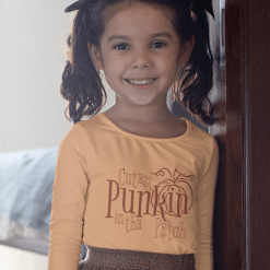 Cutest Punkin In The Patch Fall Pumpkin T-Shirt design