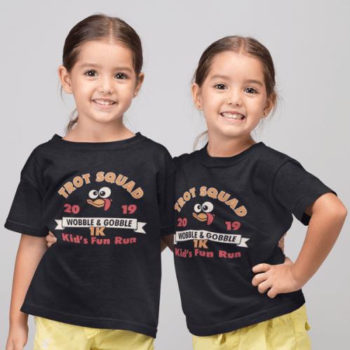 Turkey Trot T Shirts Designs for Kids Fun Run Thanksgiving Race