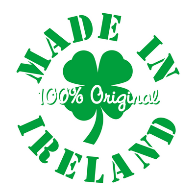 Irish t shirt 100% made in Ireland t shirt print design St Patrick's Day shirts