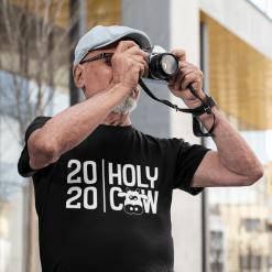 2020 Coronavirus T Shirt Design - Holy Cow Pandemic T Shirt