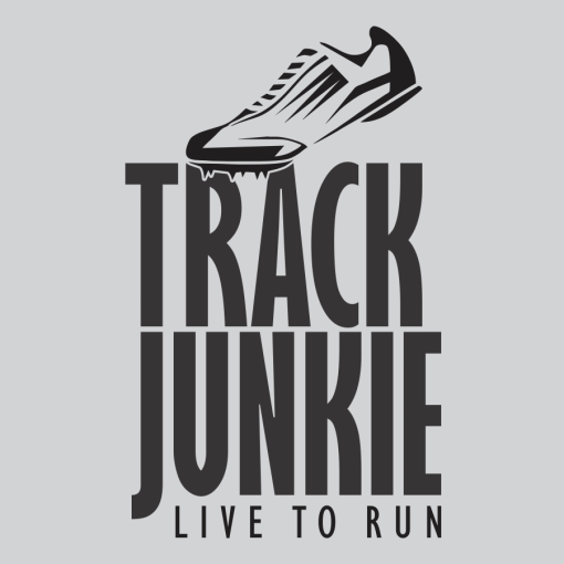 Track t shirt designs Track Junkie Live To Run Ready Made T Shirt Design