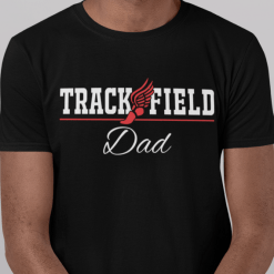 Track and Field Dad T Shirt Design - Track Dad Shirt - Track SVG