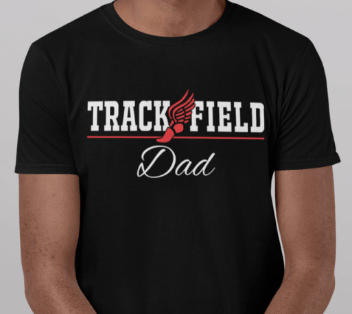 Track and Field Dad T Shirt Design - Keep Calm Quarantine Shirts | Pandemic Coronavirus Ready Made T Shirt Print Designs