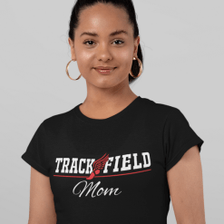 Track and Field Mom T Shirt - Track Mom SVG - Track Mom Shirt Design
