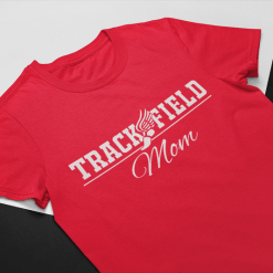 Track and Field Mom T Shirt Design - Keep Calm Quarantine Shirts | Pandemic t shirts for moms | Ready made t shirt print designs