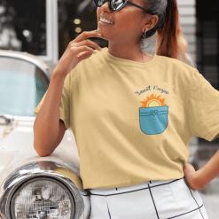 Summer T Shirt Designs Pocketful of Sunshine T Shirt Faux Pocket Vacation T Shirt Design SVG Cricut Cutting Files