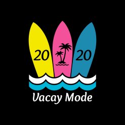 Beach T Shirt Designs Beach Sleep Repeat Design Vacay Mode Vacation t shirt designs surfboard t shirt designs SVG Cricut cutting files