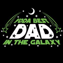 Yoda Best Dad Star Wars SVG T Shirt Design - Father's Day Gift T Shirt