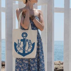 Nautical T Shirts Sailboat Design - Anchor Lake Life Boating SVG Design For Boating Apparel