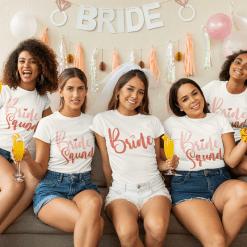 Best Bridal Party Shirts - Wedding Engagement SVG Design Bundle - 14 SVG & PNG Ready-to-Print Designs - Bride - Bride Squad T-Shirts - Bridesmaids Shirts