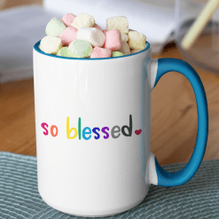So Blessed T Shirts Inspirational Design - Positive Quotes SVG - Ready-to-Print Design
