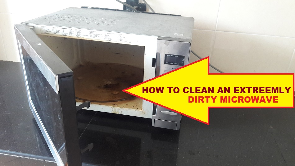 how to clean microwave best video