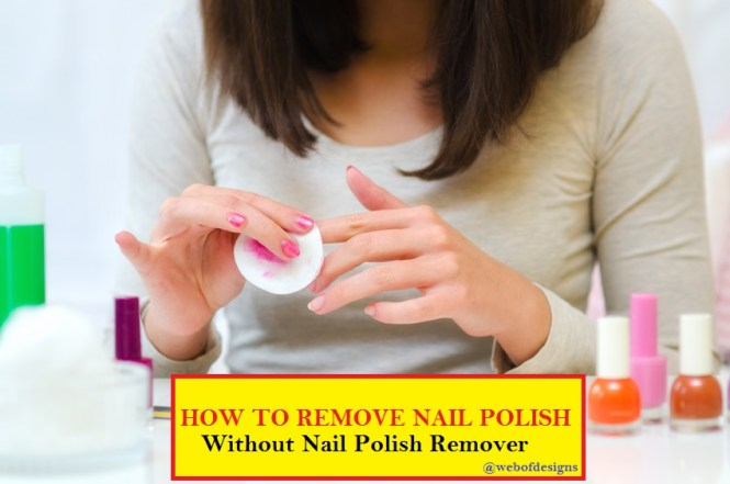 How To Take Off Acrylic Nails Using Acetone