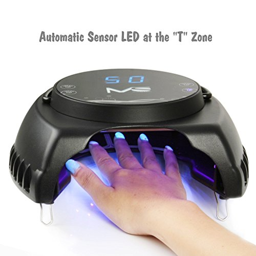 Best 5 nail lamps as of january 2018 led uv nail lamps 1 melodysusie pro60w uv led nail lamp prinsesfo Image collections