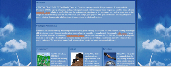 AEPAY GLOBAL ENERGY