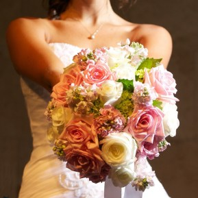 Bridal bouquet by Geneva florist
