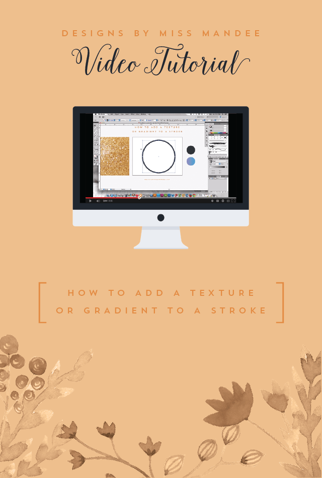How to Add a Texture or Gradient to a Stroke