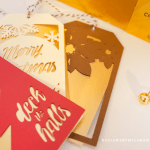 Die Cut Holiday Gift Tags